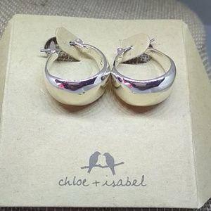 LA LUNE Sculpted Click - Top Hoop Earrings